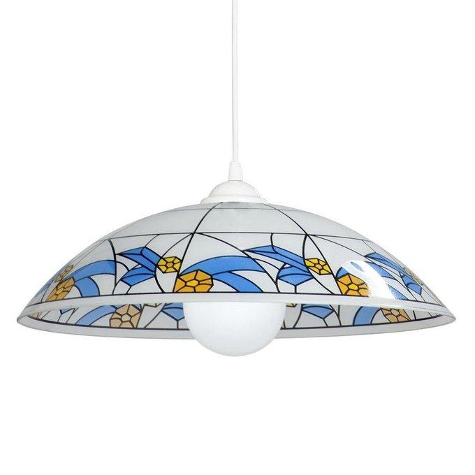 Подвесной светильник c плафоном из стекла
