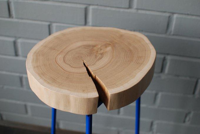 Журнальный стол Tree 19 с синими ножками
