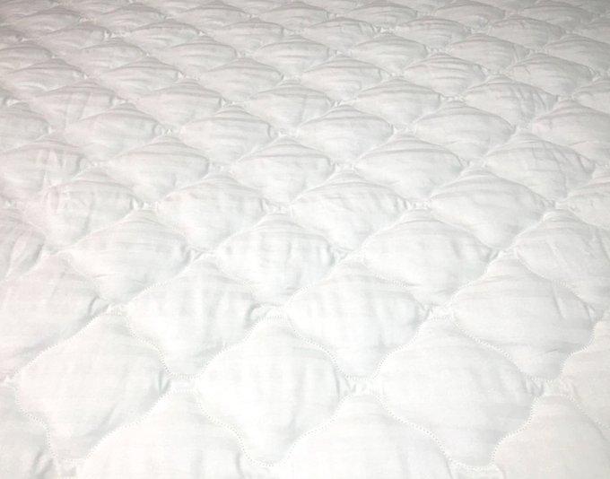 Наматрасник-перина Консул Люкс 160x190 из жаккардового сатина