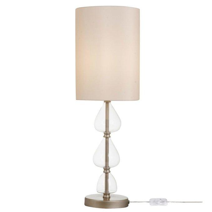 Настольная лампа Armony с бежевым абажуром
