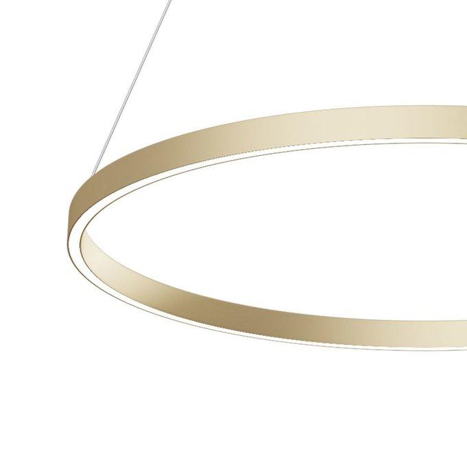 Подвесной светильник Rim цвета латунь