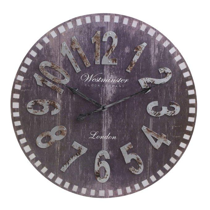 Настенные часы из пластика с кварцевым механизмом