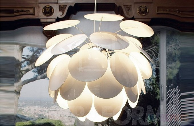 Подвесной светильник Discoco Серебро