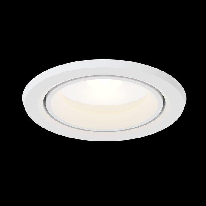 Встраиваемый светильник Phill белого цвета