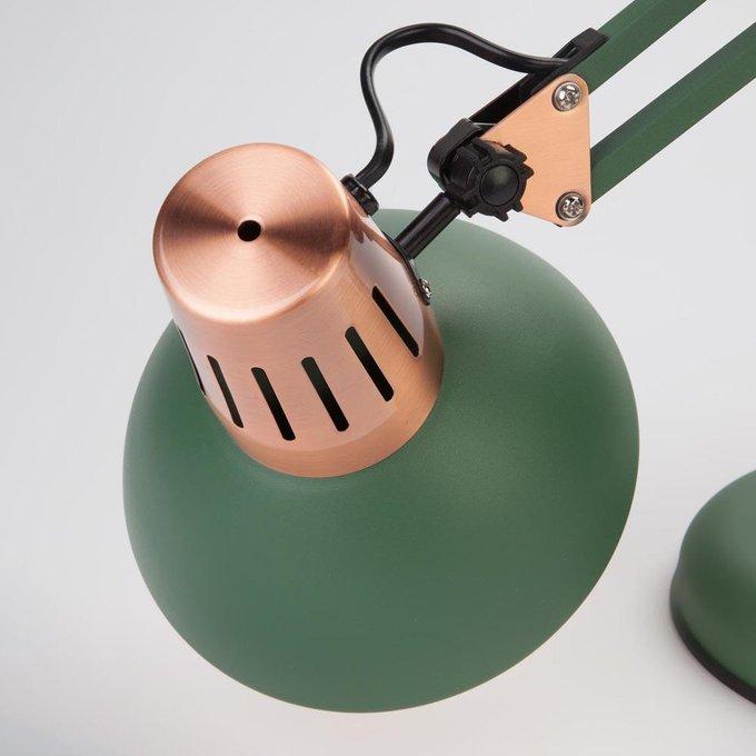 Настольная лампа Worker зеленого цвета