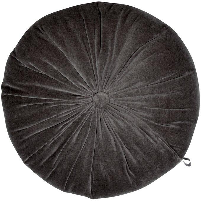 Подушка-думка Veronica черного цвета