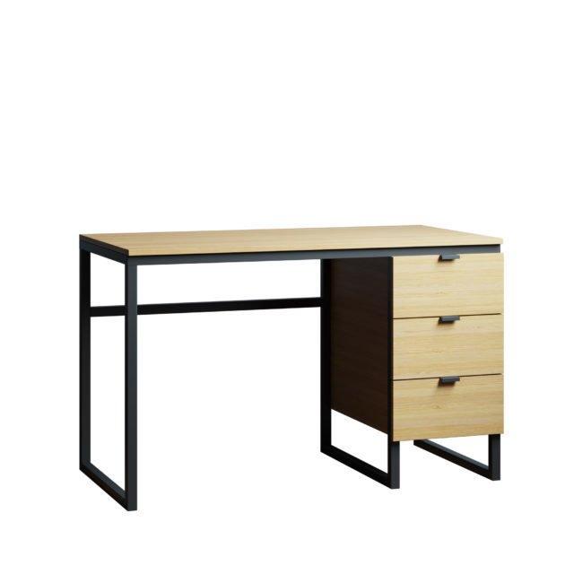 Письменный стол Joseph new 140х60  цвета натуральный дуб