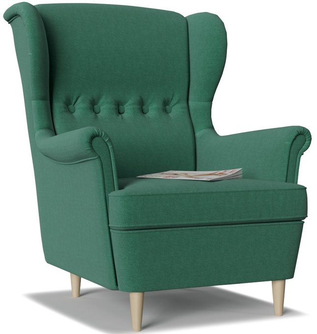 Кресло Торн Porshe Green зеленого цвета