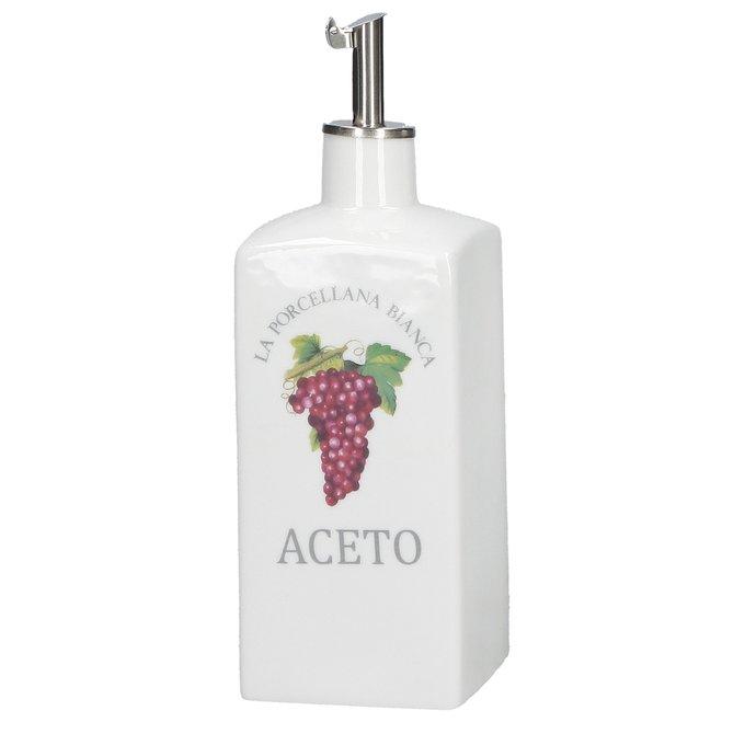 Бутыль для уксуса Mi Conserva белого цвета