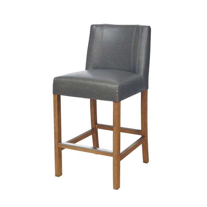 Барный стул Cadi Counter серого цвета
