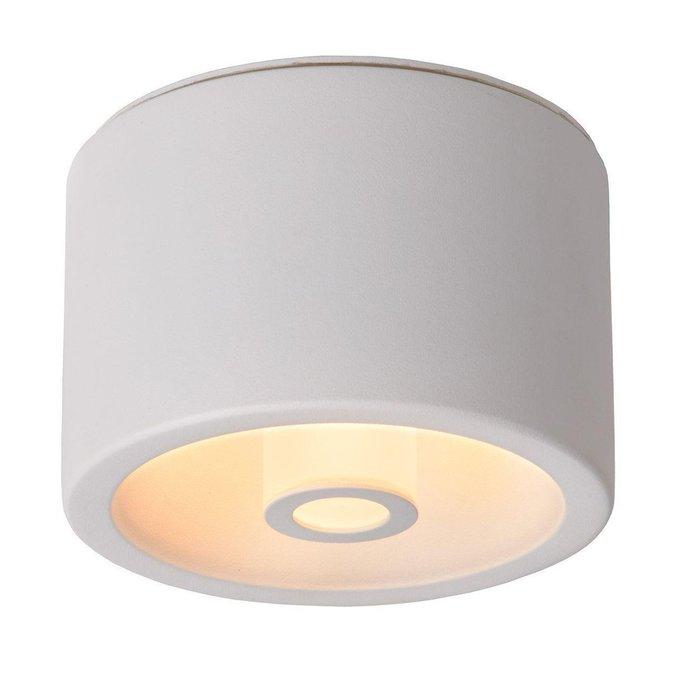 Потолочный светодиодный светильник Vita белого цвета