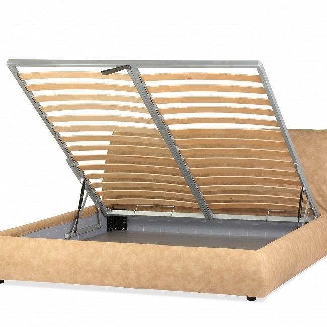 Кровать Sharpei Box 180x200 бежевого цвета