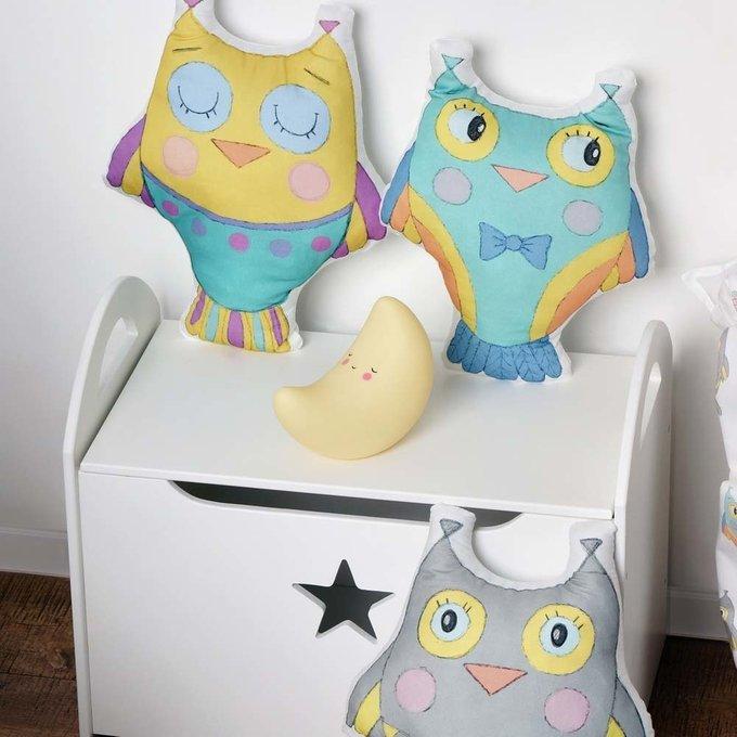 Детский сундук для игрушек белый со звездочкой