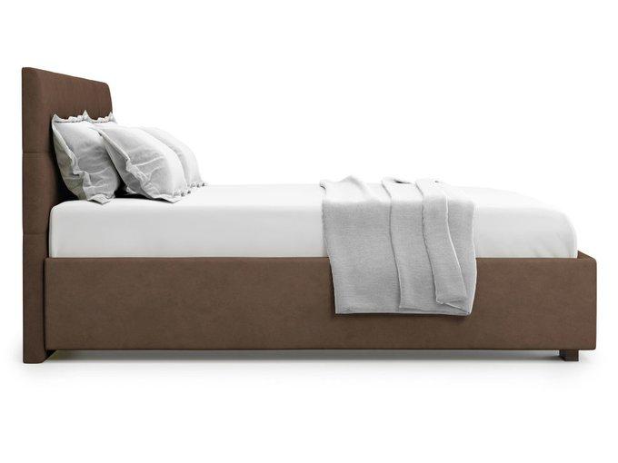 Кровать Garda 160х200 коричневого цвета с подъемным механизмом