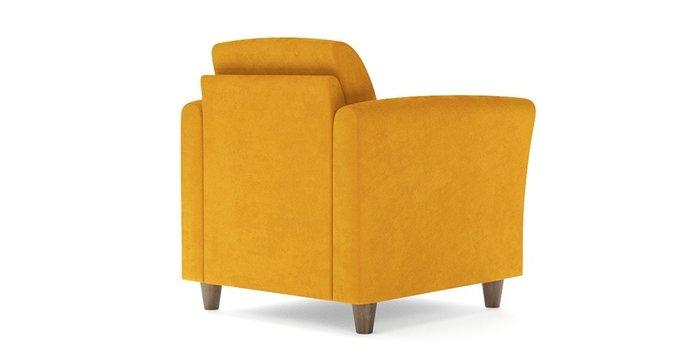 Кресло Катарина желтого цвета