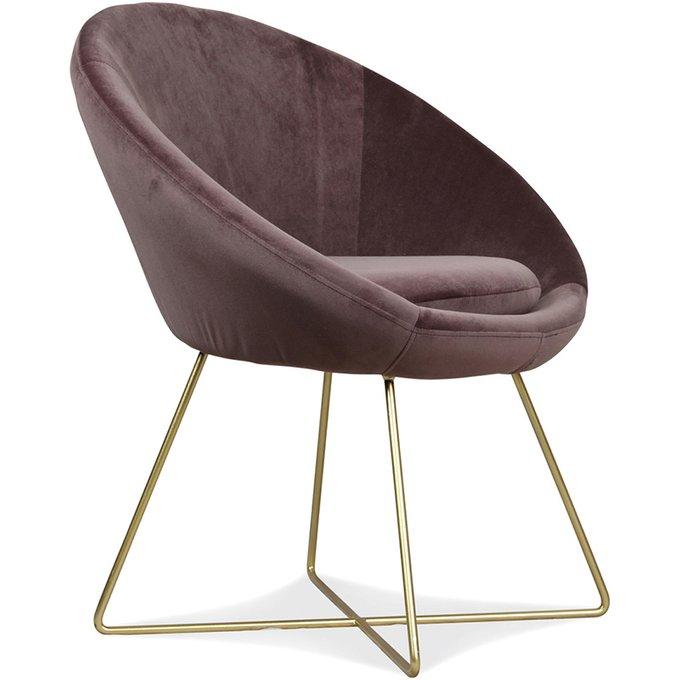 Кресло Hobby коричневого цвета