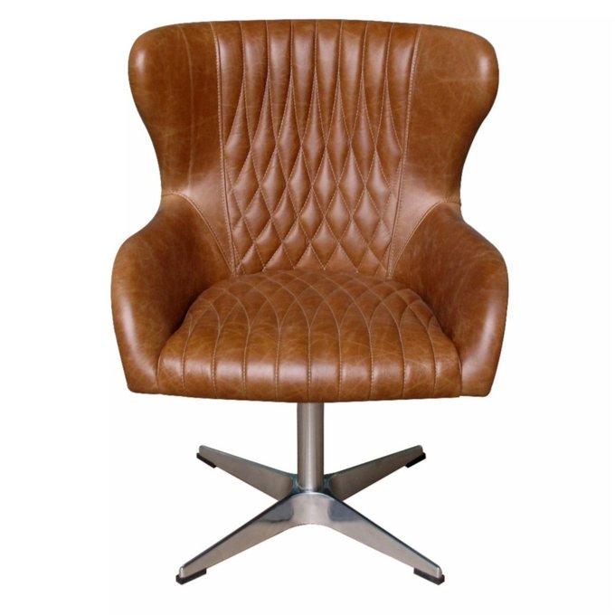 Кресло из кожи Этамп