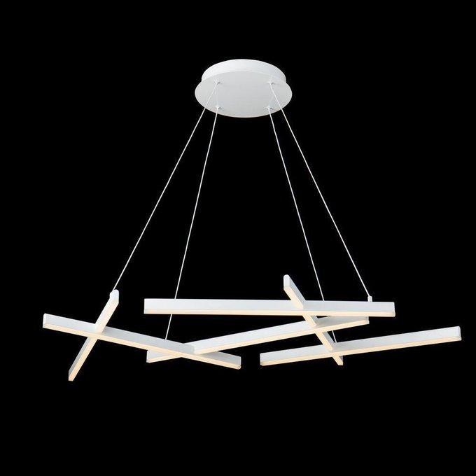 Подвесной светодиодный светильник Line белого цвета