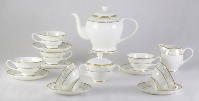 Чайный сервиз Marbella из фарфора