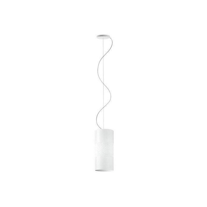 Подвесной светильник Fabbian BECKY из матово-белого стекла