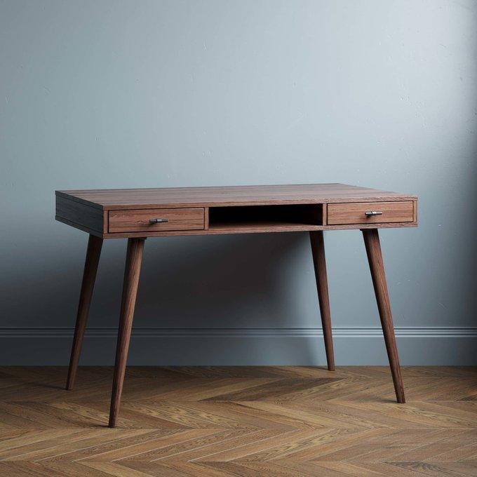 Письменный стол Scandinavia New 140х70 цвета натуральный дуб
