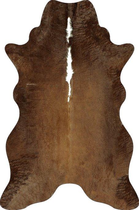 Ковер коричневого цвета 80х120 см