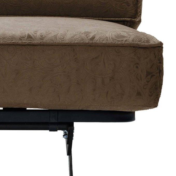 Диван-кровать Арни Letizia коричневого цвета