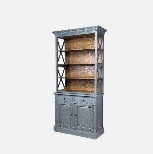 Шкаф-витрина Avelina с полками и ящиками