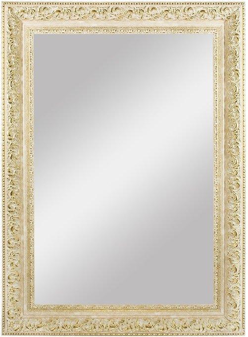 """Зеркало большое в раме Белое """"Золото Барокко"""""""