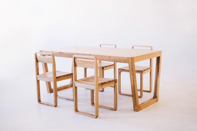 Стол обеденный Espas ЭЙФЕЛЬ из массива дуба