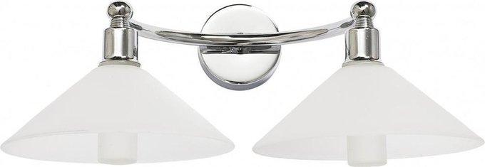 Подсветка для зеркал Milton с белыми плафонами