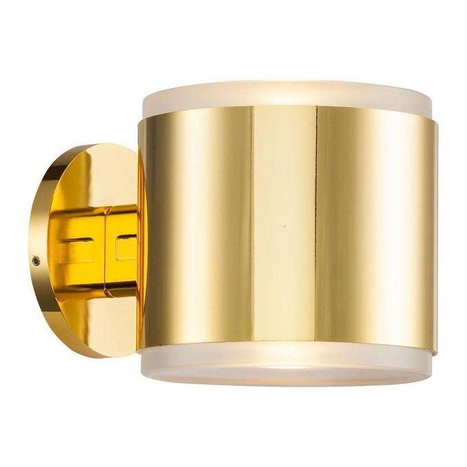 Бра Tube золотого цвета
