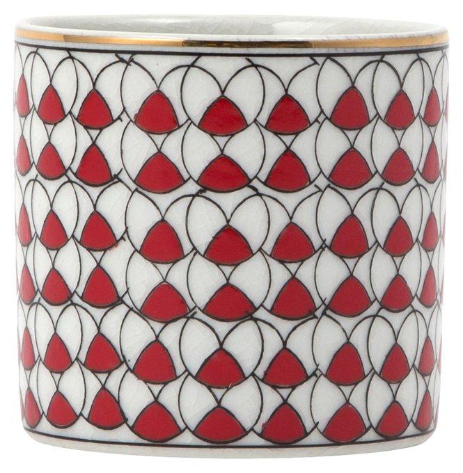 Шкатулка Samarkand round red