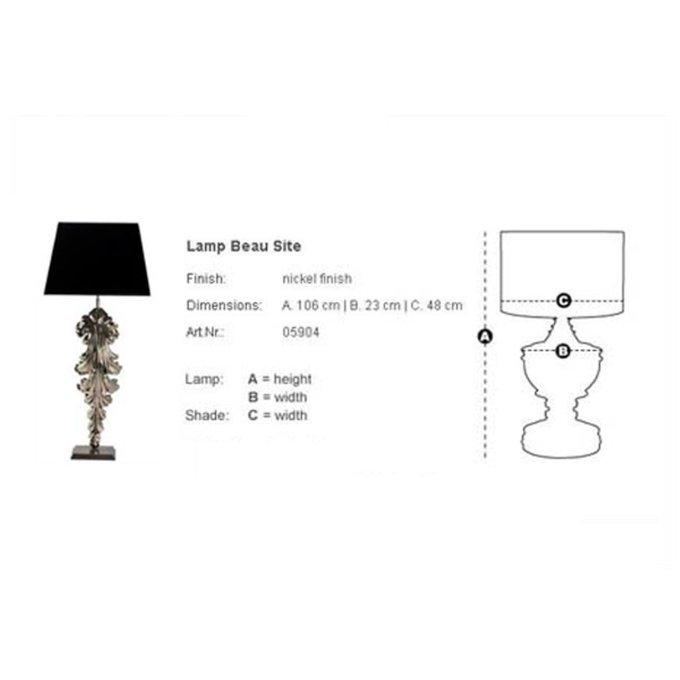 """Настольная лампа """"Lamp Beau Site"""""""