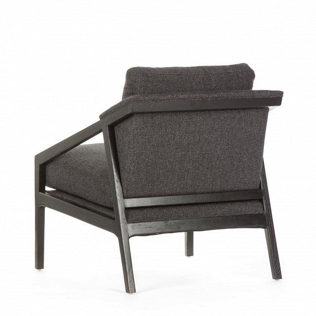 Кресло Earl Chair темно-срого цвета
