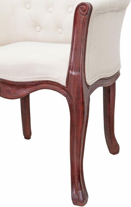 Кресло Kandy beige classic с обивкой из льна