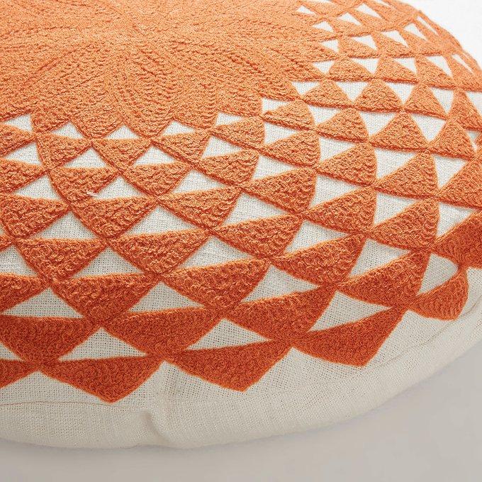 Чехол для декоративной подушки Zappa оранжевого цвета