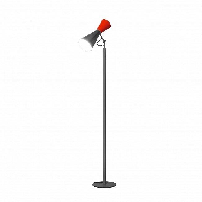 Напольный светильник Parliament LC красного цвета