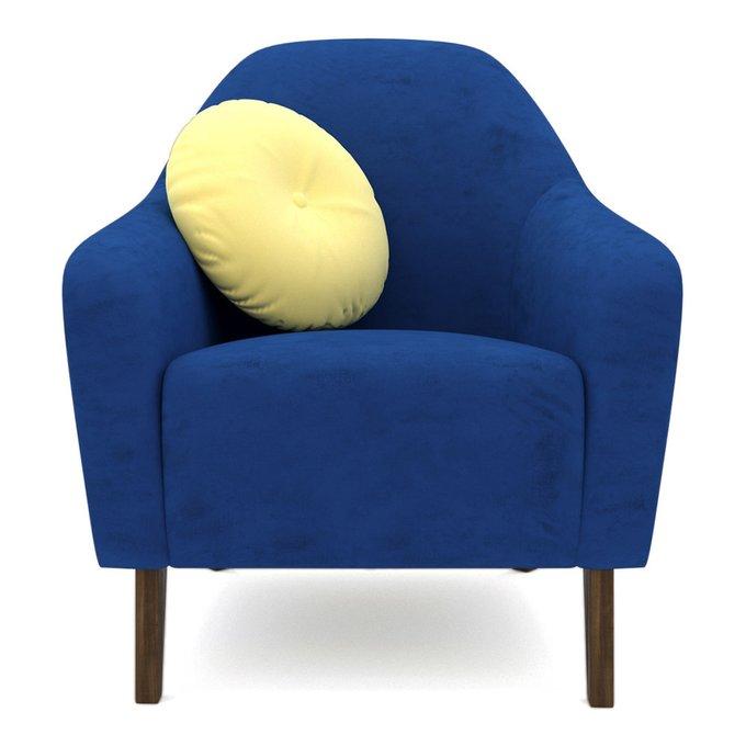Кресло Miami lux  синего цвета