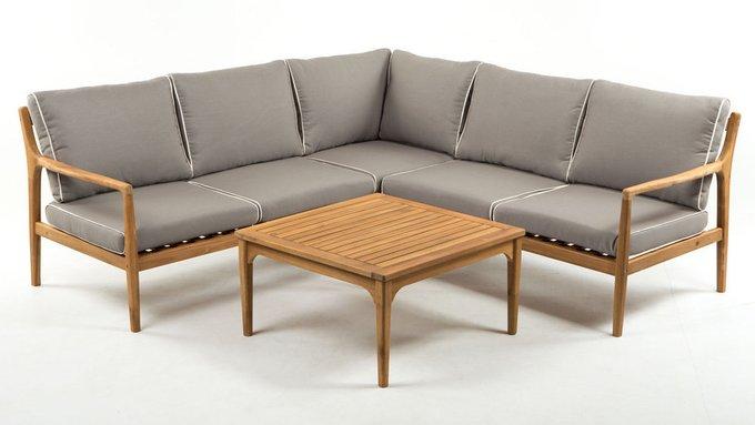Угловой комплект мебели Manchester из акации