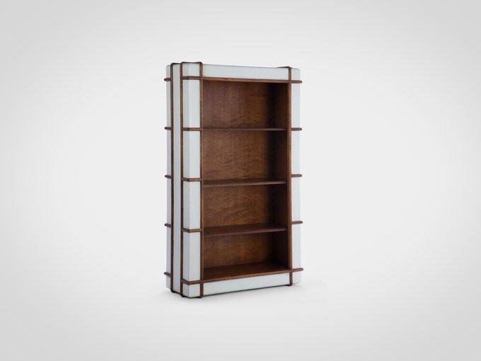 Книжный шкаф из массива березы