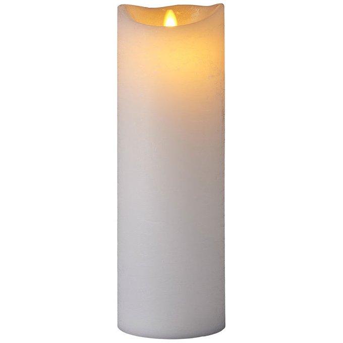 Светодиодная свеча Sara Exclusive с имитацией живого огня