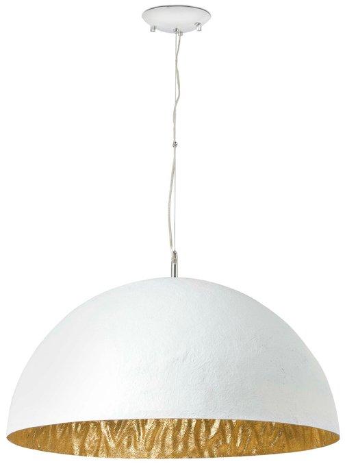Подвесная люстра Faro Magma-P бело/золотая