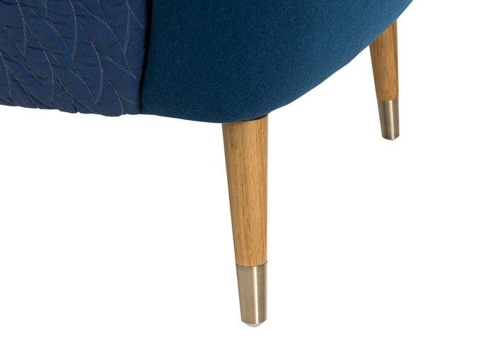 Кресло Kelt синего цвета