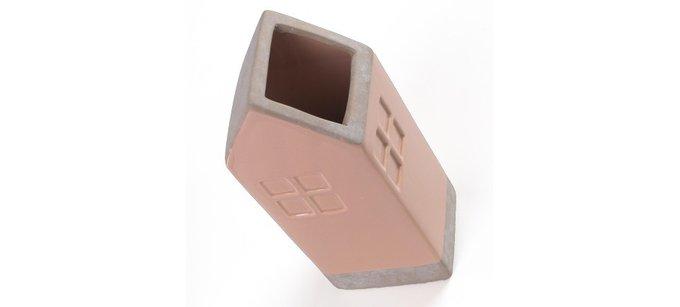 Ваза Julia Grup ARLA керамическая розовая