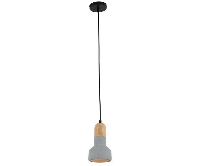 Подвесной светильник Спарк серого цвета
