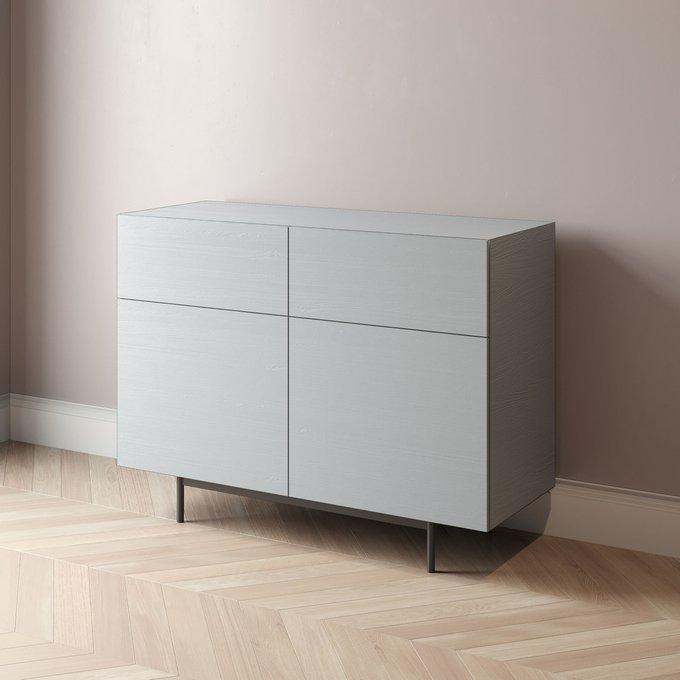 Комод Cube-3 120х45 черного цвета