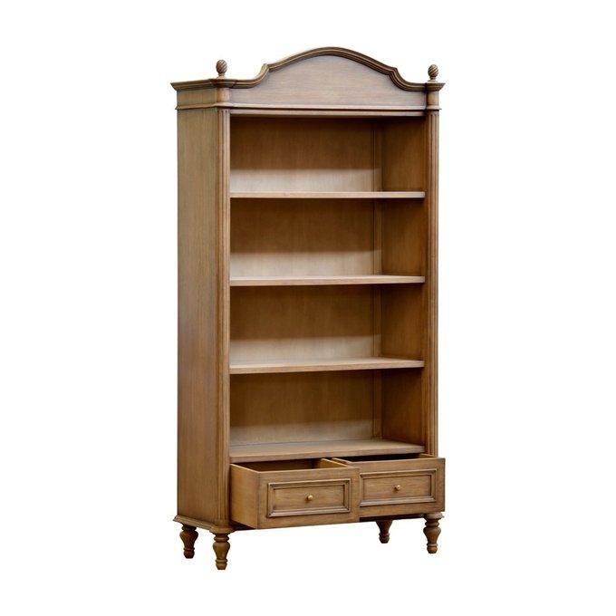 Книжный шкаф Lucas из дерева Махагони