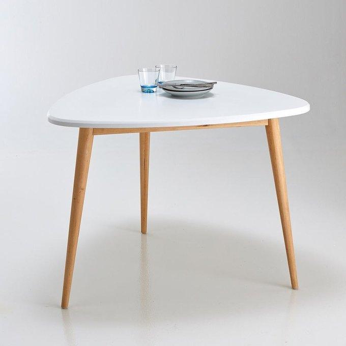 Обеденный стол Jimi белого цвета