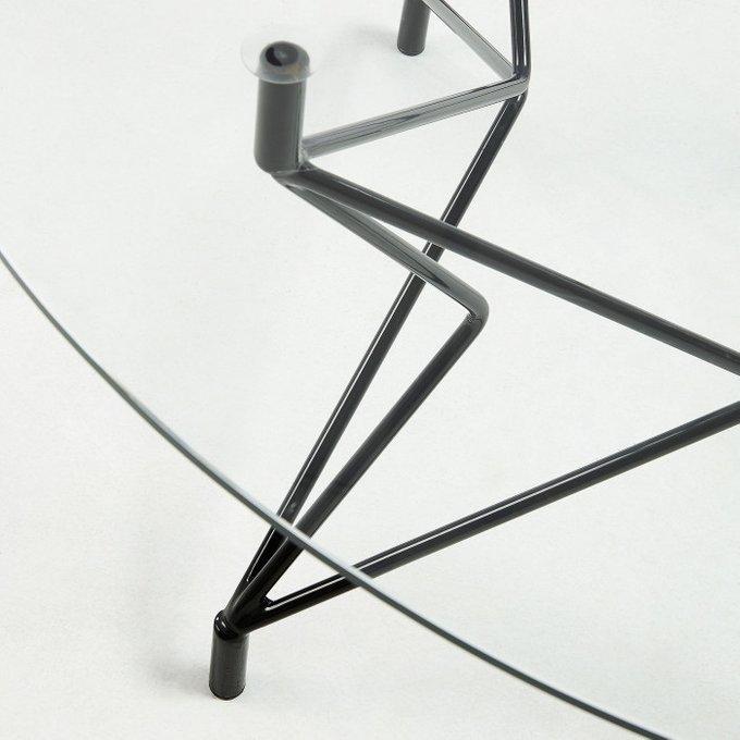 Журнальный стол Kovacs из стекла и металла